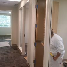 Working on commercial office renovations in Mississauga